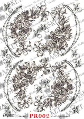 małe bukiety kwiatów owocami