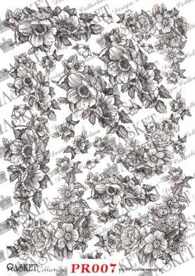 Kwieciste wzory do tworzenia delikatnych kompozycji