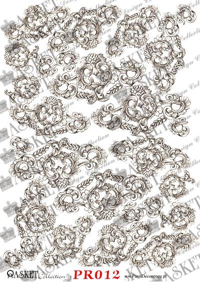 wzory ze starych rycin