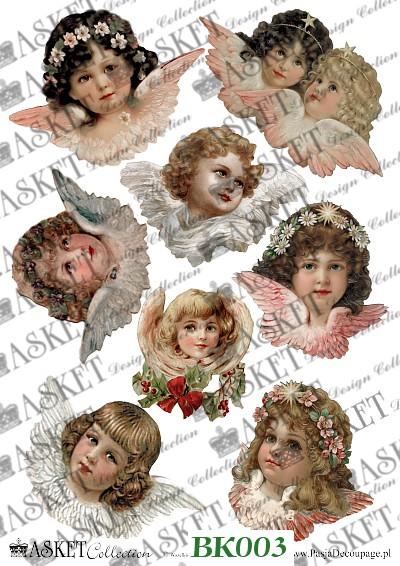 Twarze małych aniołków
