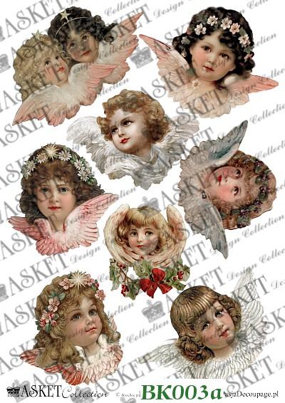 radosne aniołki zawieszki