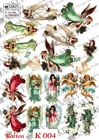 Anielskie postacie kolorowe