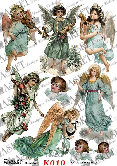 Anielskie postacie w świątecznym czasie