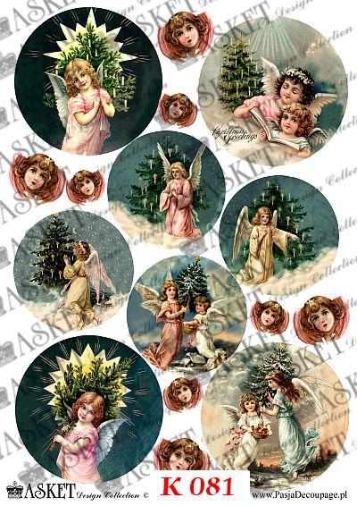 Motywy aniołów do dekoracji