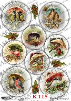 Bajkowe ptaszki ozdabiania