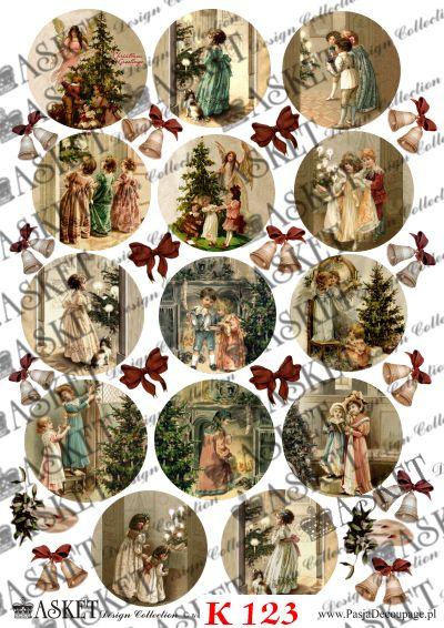 Dzieci w domu podczas Świąt Bożego Narodzenia