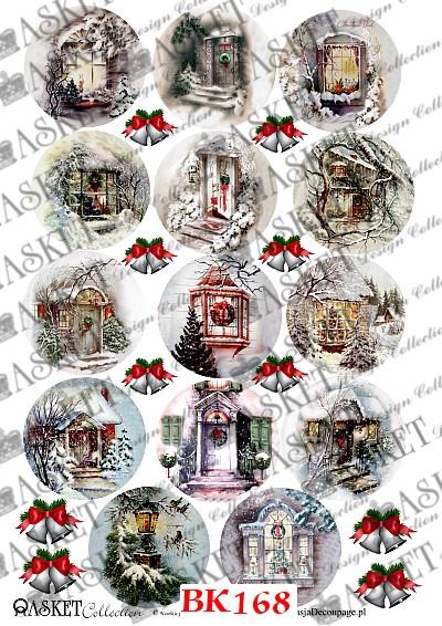 Baśniowe domki świąteczne