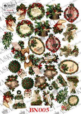 świateczne krzewy, odoby świąteczne