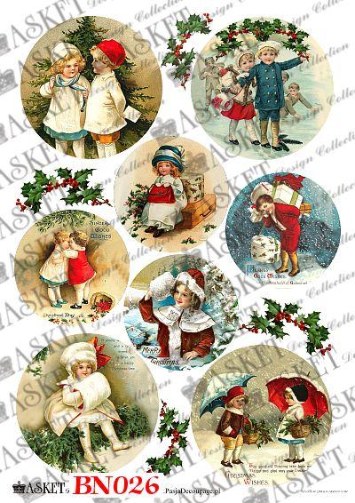 Zimowe dzieci w ciepłych strojach