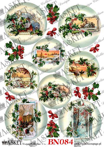 Zimowe obrazki w świątecznym klimacie