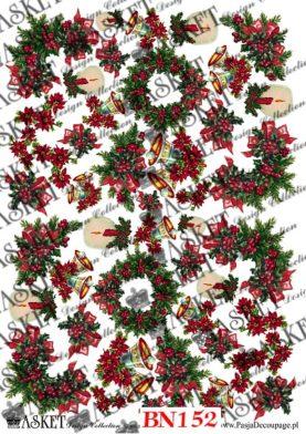 stroiki świąteczne, dzwoneczki i świece