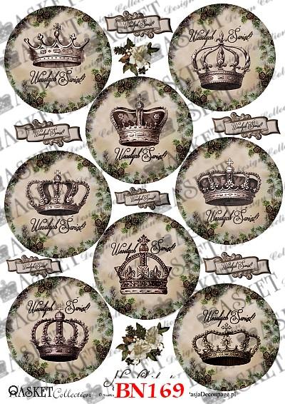 dekupaż świąteczny wzory