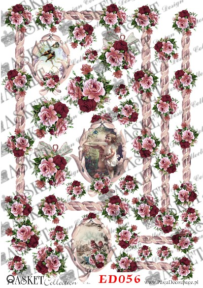 małe bikieciki róż to ozdabiania małych powierzchni