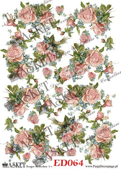 bukiety kwiatów z niezapominajkami