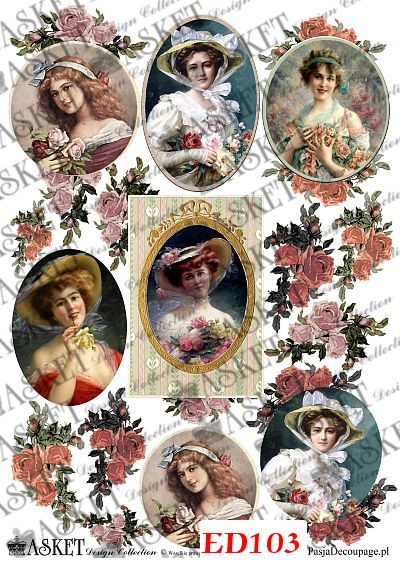 Kobiety w romantycznym stylu