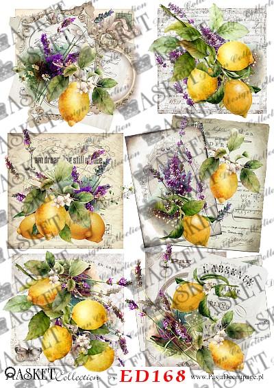 Cytryny z wrzosem