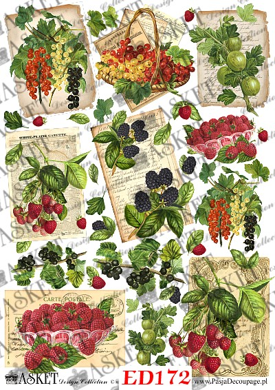 letnie zbiory . owoce w koszach