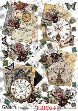 zegary w starym stylu