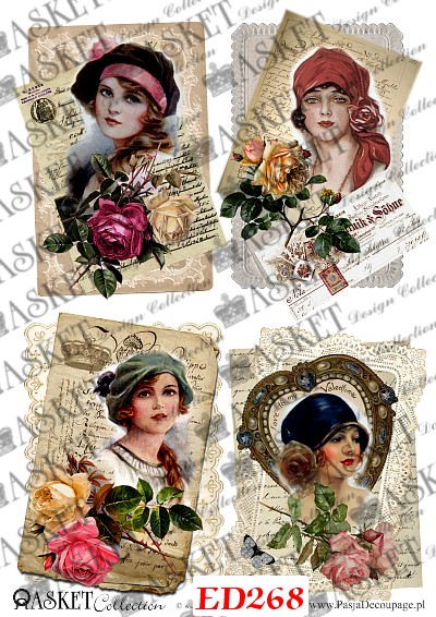 kolorowe portrety kobiet