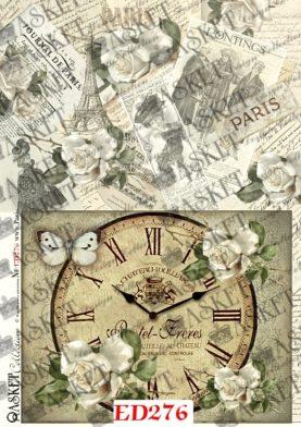 duża grafika zegara