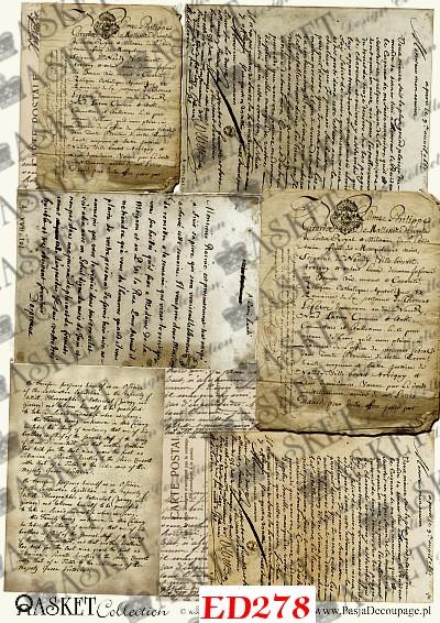 Stare, Pożółkłe Listy