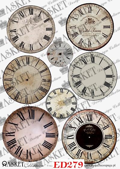 tarcze zegarów do kompozycji