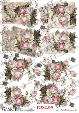 róże w delikatnych odcieniach różu