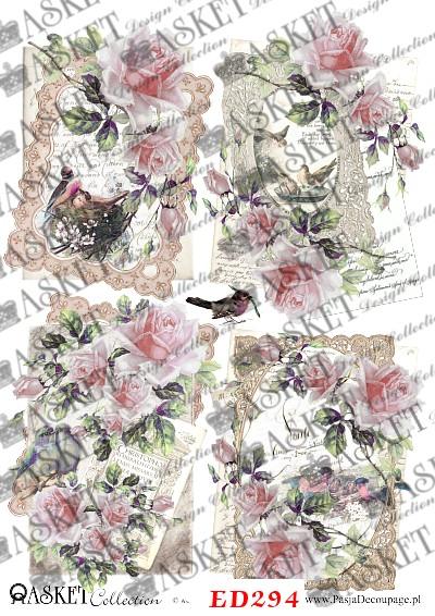 bardzo delikatne kolory w różach