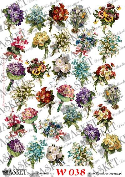 bratki, przebiśniegi i inne wiosenne kwiaty