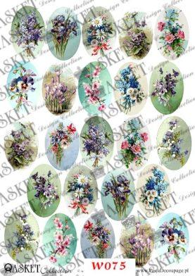 Bukiety wiosennych kwiatów