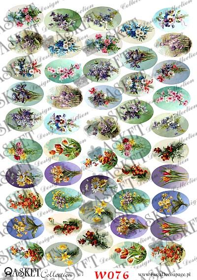 bukiety kwiatów różnych gatunków