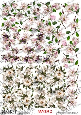 Małe kwiatki do dekorowania wydmuszek