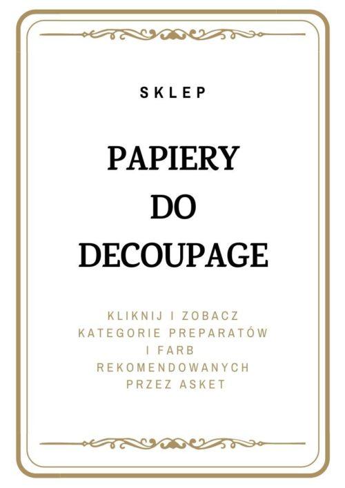 Papiery Decoupage