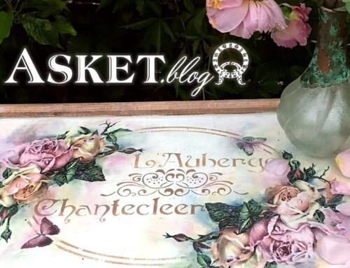 Angielskie Róże Kwitną – Motywy Decoupage