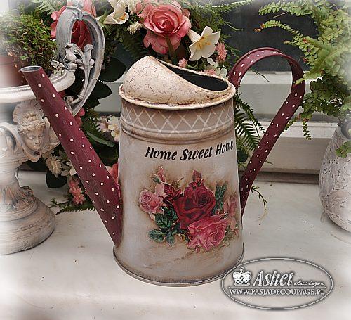 konewka róże róż