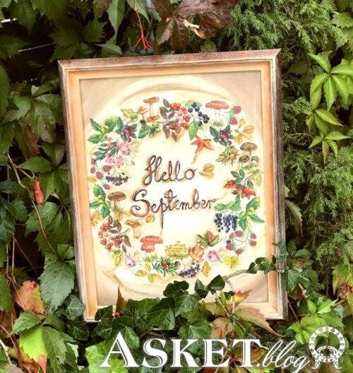 jak zrobić jesienną dekorację