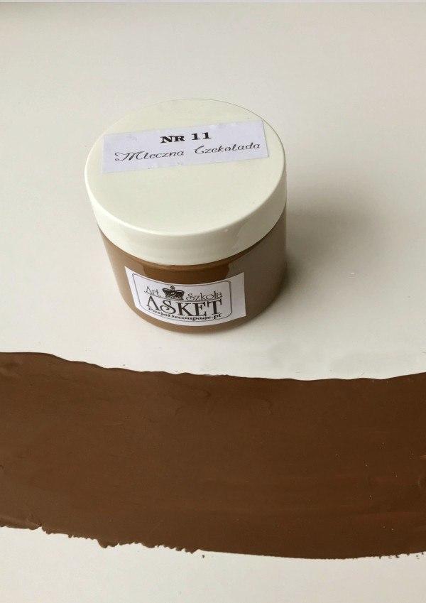 kolor farby mleczna czekolada