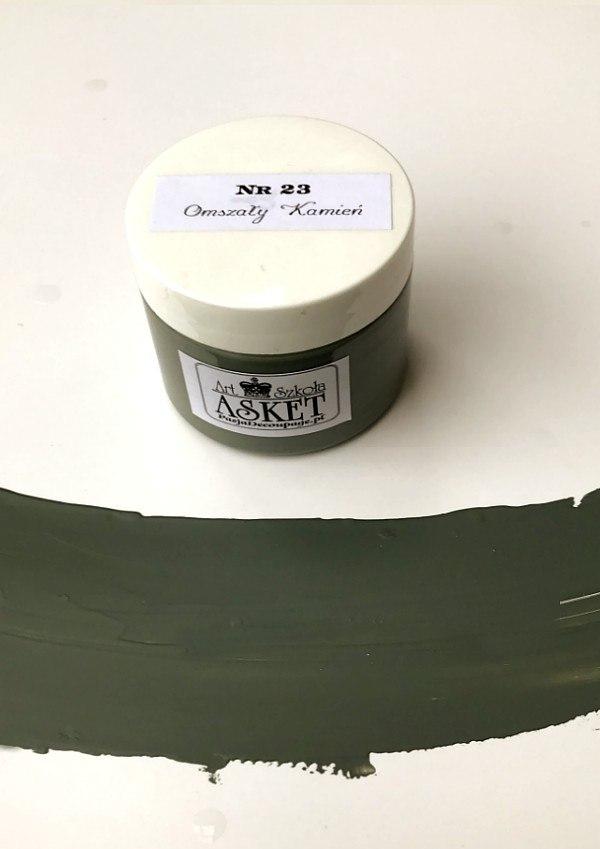 kolor kamiennej zieleni