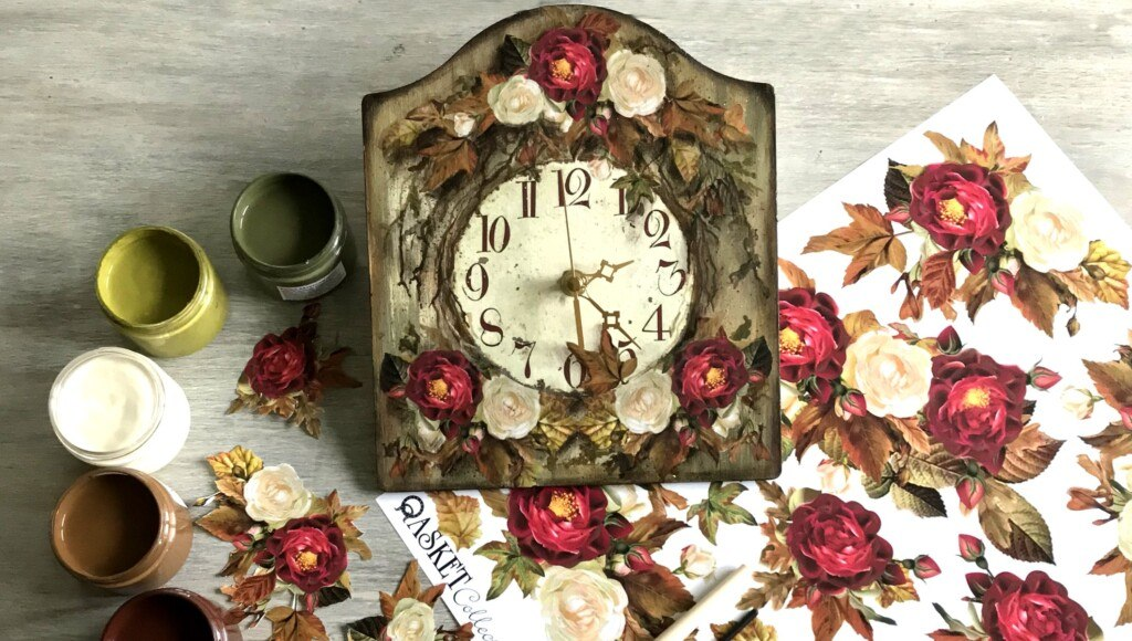 komplet do decoupage