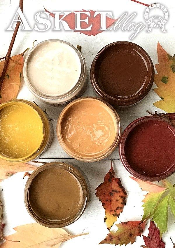 jesienny kolory farb