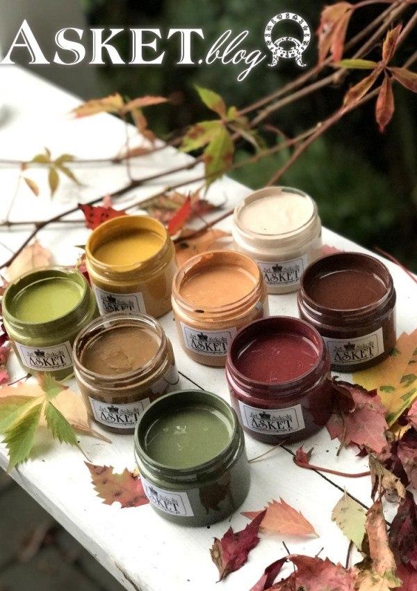 jak wybrać kolor farb do decoupage
