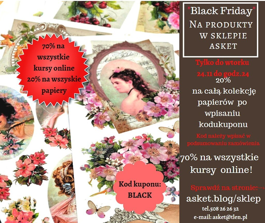 black friday w sklepie Asket!