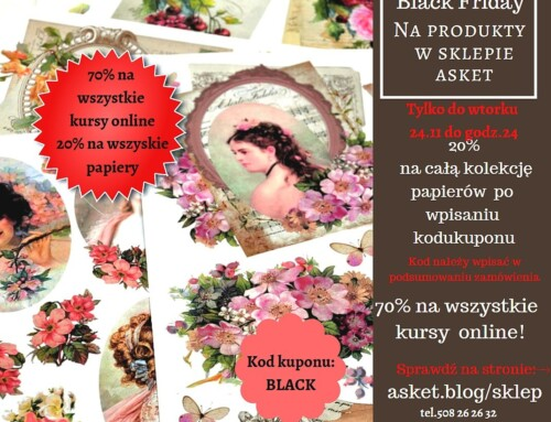 Black Friday w Sklepie Asket
