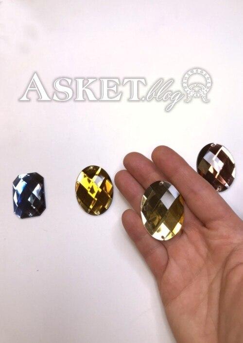 diament jasny złoty