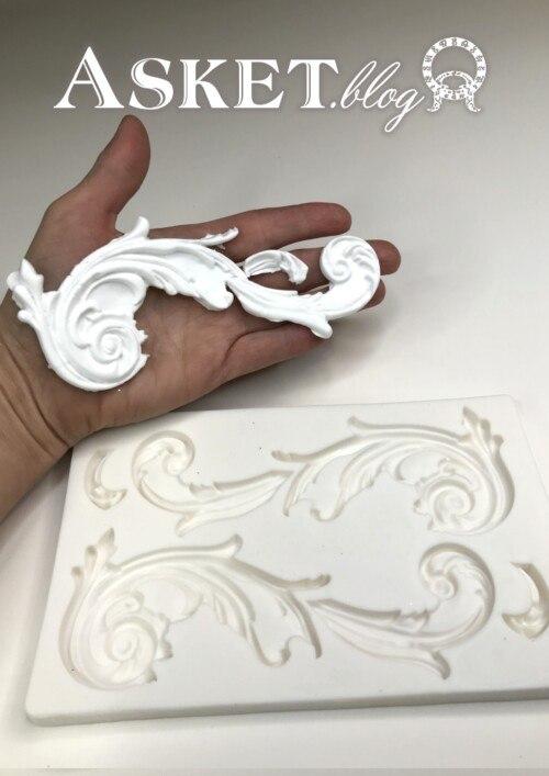 forma silikonowa ornament