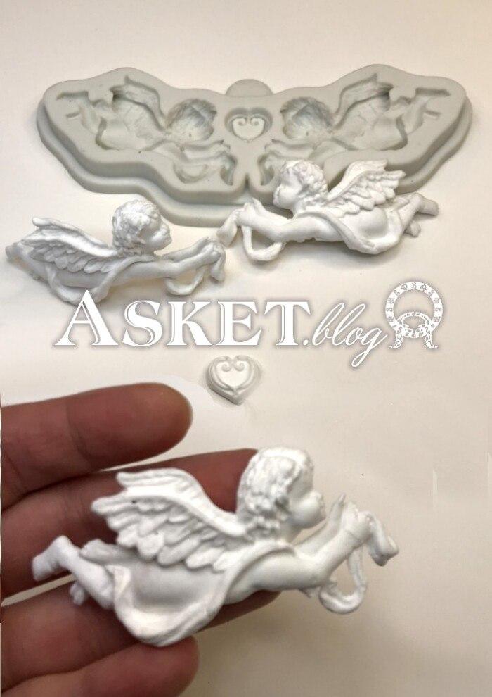 Forma do wycisków aniołki