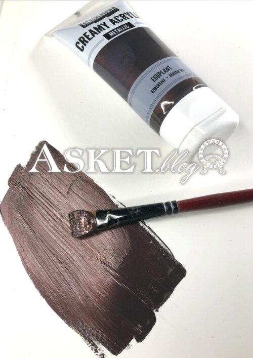 kolor metaliczny bakłażan