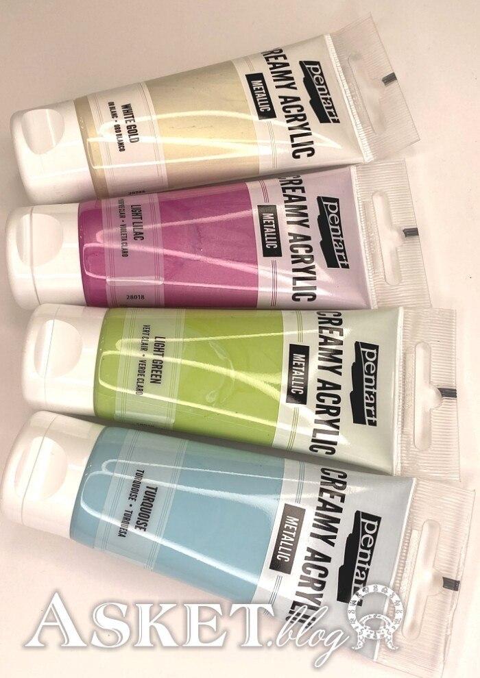 farby metaliczne różne kolory