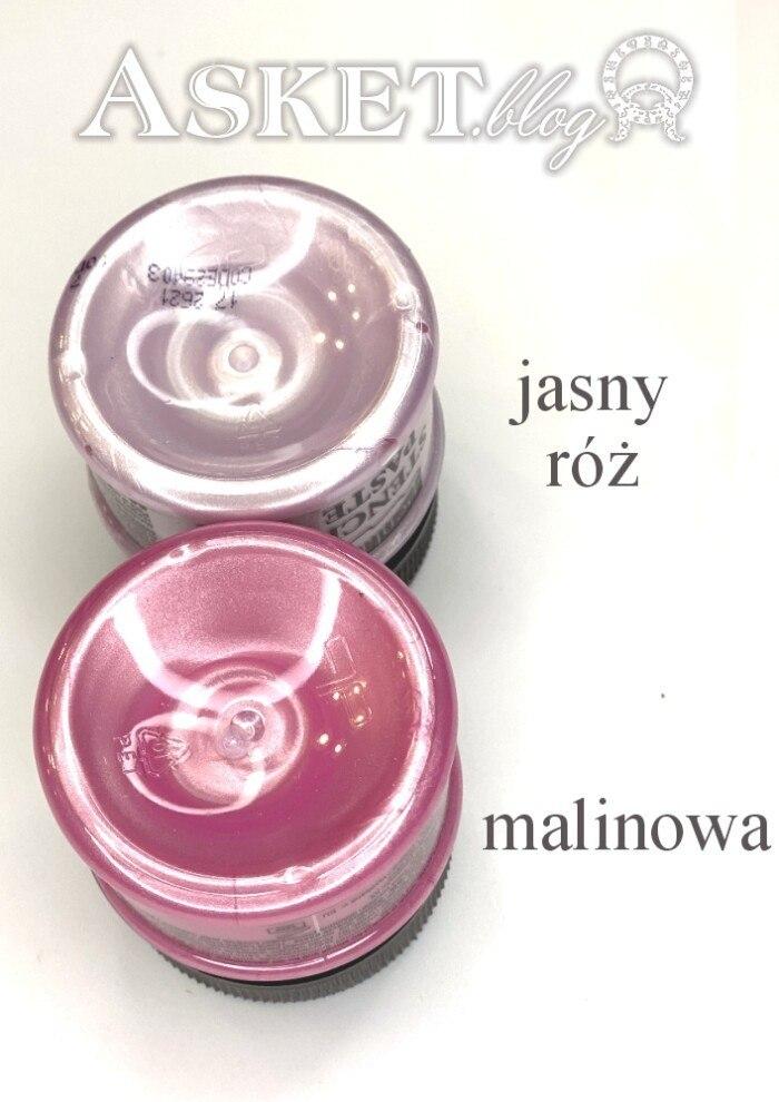 różowa pasta perłowa