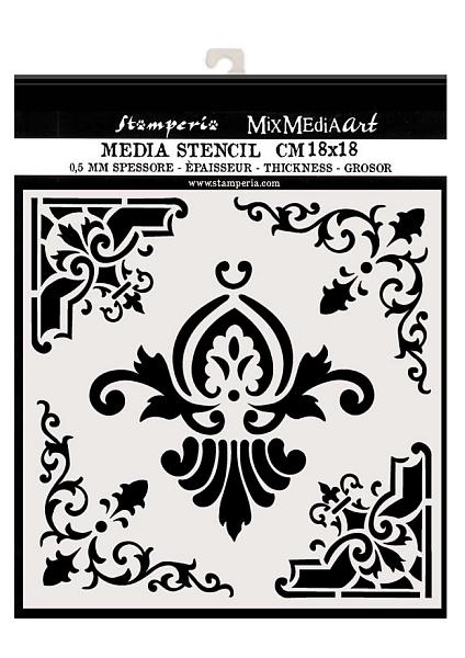 szablon symetryczny ornament